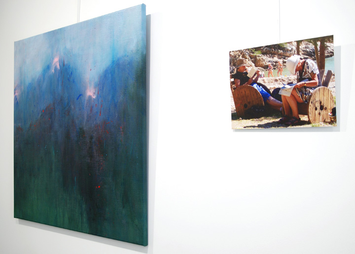 Expo with Marie Verdurmen (paintings & drawings) and photos (Marie-Thérèse Willemsen) in gallery Conscience20 Antwerp-Belgium 20-27 Okt. 2019.